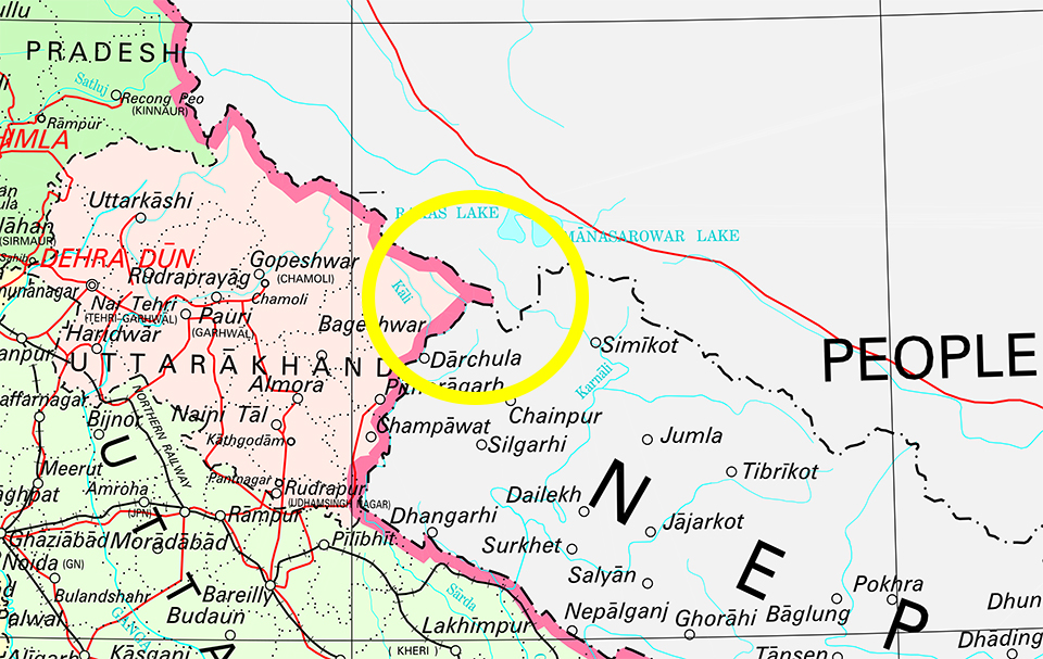 Nepal strongly objects to India\'s new political map that has ...